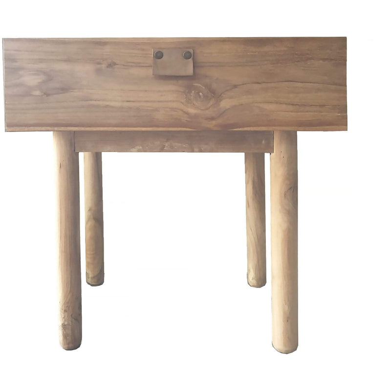 Aria Bedside Table in Natural
