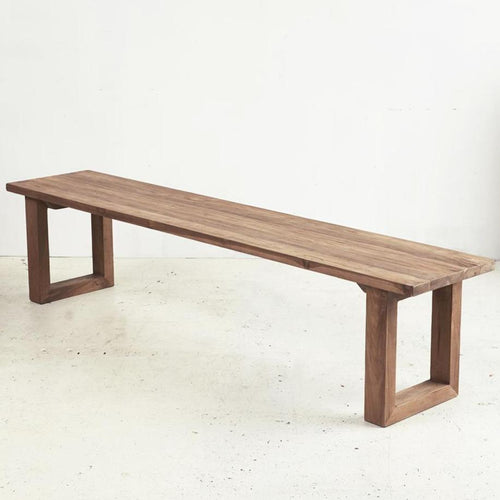 Eli Rustic Bench Seat Low Stools and Benches Dianna-Lynn Decor