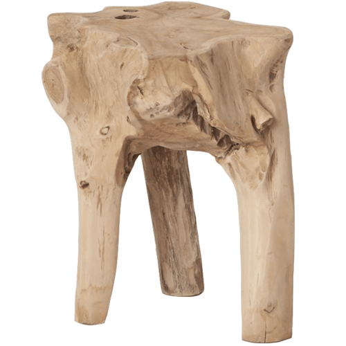Elif Tree Root Stool Low Stools and Benches Dianna-Lynn Decor