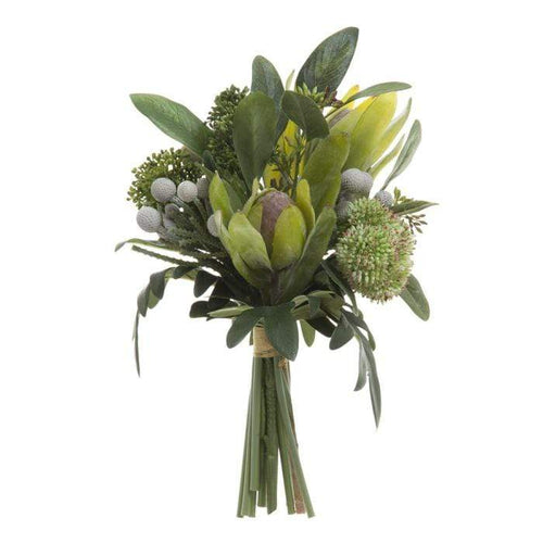 Eucalyptus Berry Bouquet - Green Artificial Flowers Dianna-Lynn Decor