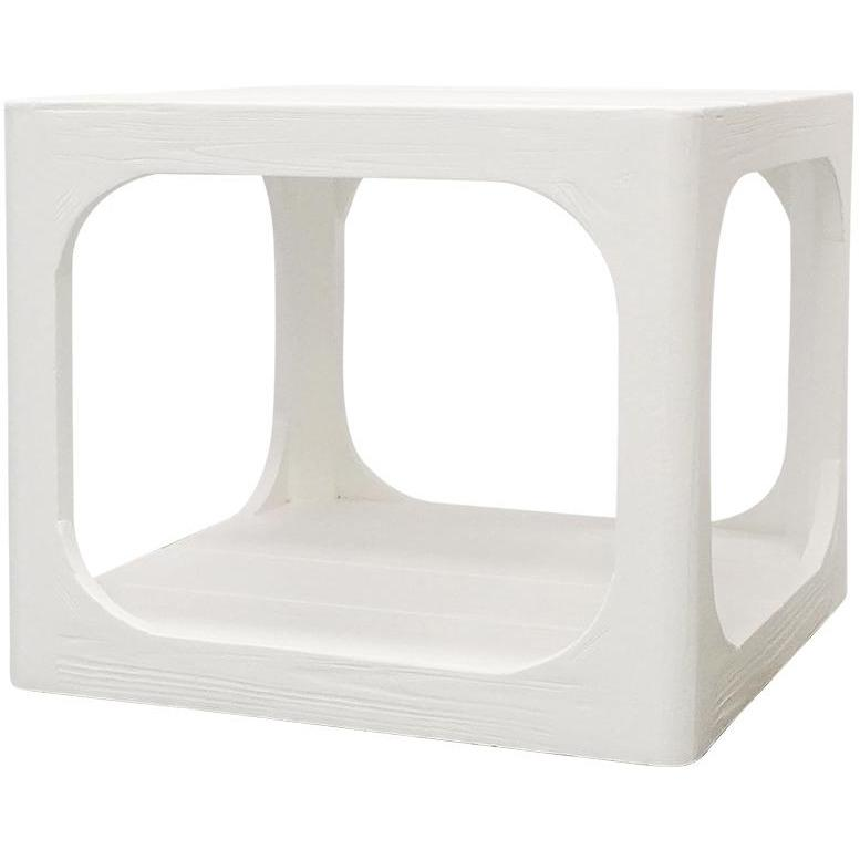 Hanoi Side Table - White