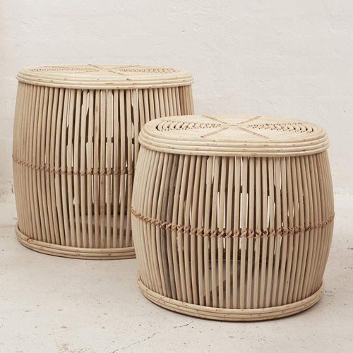 Ira Rattan Coffee Table - Natural Coffee and Side Tables Dianna-Lynn Decor