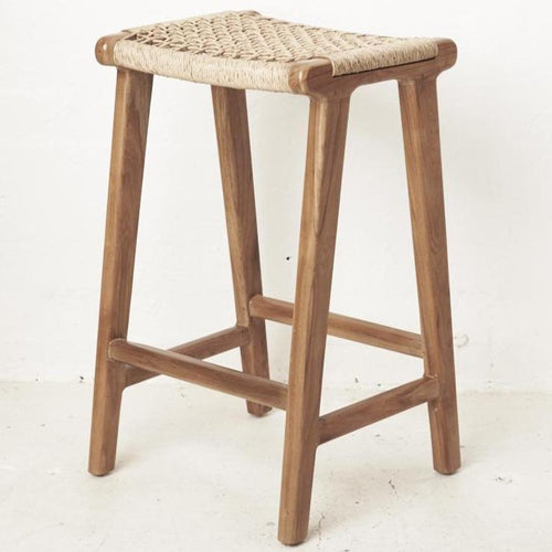 Kete Woven Outdoor Barstool Dining Chairs and Bar Stools Dianna-Lynn Decor