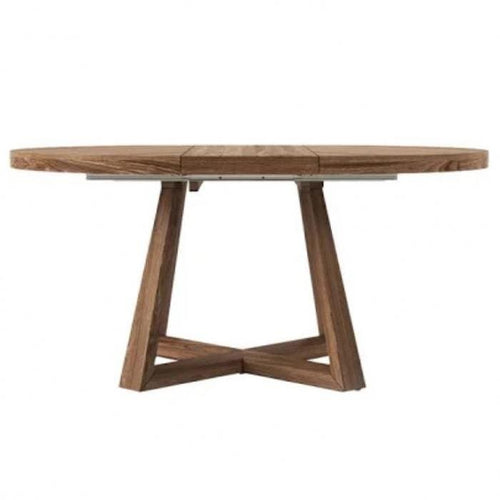 Lei Round Oak Dining Table Dining and Bar Tables Dianna-Lynn Decor