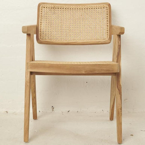 Lima Rattan Squared Off Chair Dining Chairs and Bar Stools Dianna-Lynn Decor
