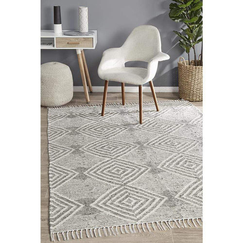 Malo Siva Rug - Charcoal or Grey Floor Rugs Dianna-Lynn Decor
