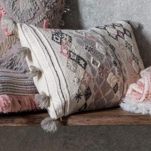 Nila Embroidered Cushion Soft Furnishings Dianna-Lynn Decor