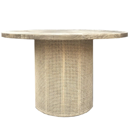 Niu Rattan Dining Table Dining and Bar Tables Dianna-Lynn Decor