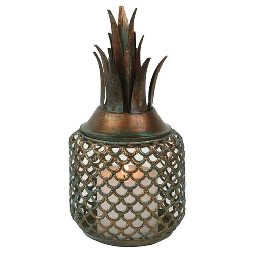Pineapple Lantern Large Lanterns and Candle Holders Dianna-Lynn Decor