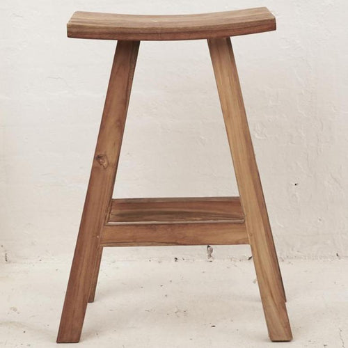 Sena Rustic Finish Bar Stool Dining Chairs and Bar Stools Dianna-Lynn Decor