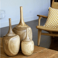 Set of 3 Lidded Vase