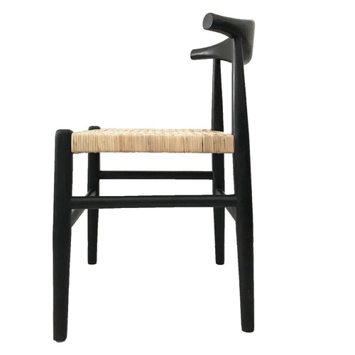 Sole Dining Chair - Black Dining Chairs and Bar Stools Dianna-Lynn Decor