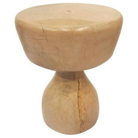 Timber Brad Stool - Squat Low Stools and Benches Dianna-Lynn Decor