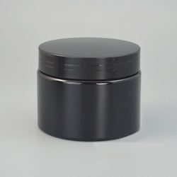 150g Black PET Jar - 50PCS