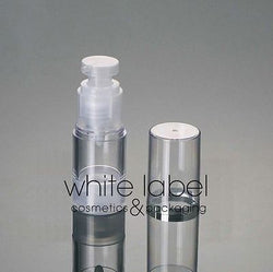15ML PLASTIC AIRLESS VACUUM PUMP COSMETIC LOTION BOTTLE- NEW 100PCS/LOT