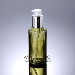100ML Green Glass Cosmetic Pump Bottle-50PCS/LOT