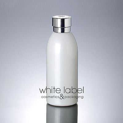 120ML WHITE GLASS COSMETIC BOTTLE WITH DROPPER CAP ASS STYLES/SIZES-NEWLOT/50PCS