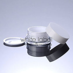 20G WHITE DOUBLE WALL COSMETIC CREAM JAR WHOLESALE - NEW 50PCS/LOT