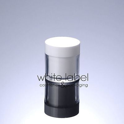 50G WHITE DOUBLE WALL COSMETIC CREAM JAR WHOLESALE - NEW 50PCS/LOT
