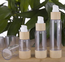 NEW Bamboo Airless Bottles (Contact us for prices)