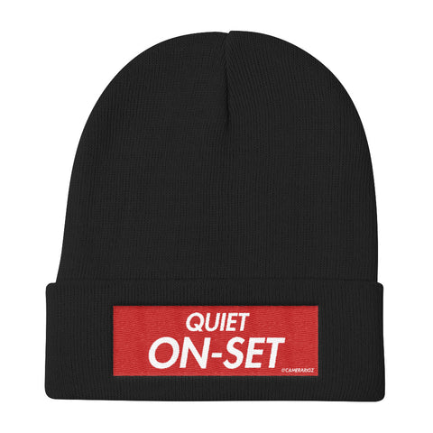 Quiet On Set Camerarigz Knit Beanie