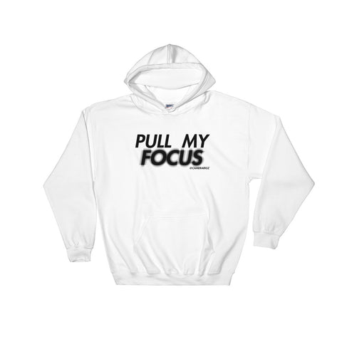 Pull My Focus Camerargz White Hoodie