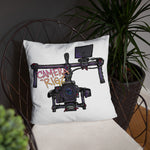 Dope Owl Camerarigz Limited Edition Gimbal Throw Pillow