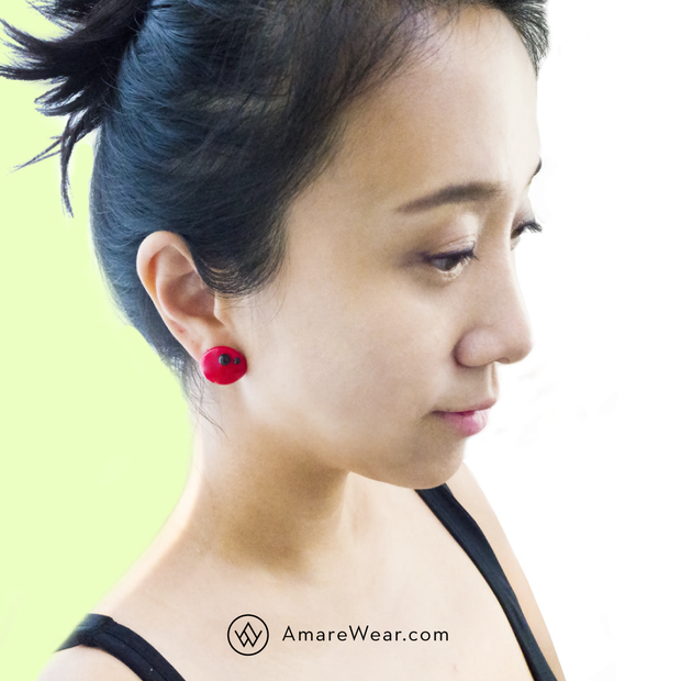 Abstract Pair - Ladybugs - Single Earring - AMARE WEAR