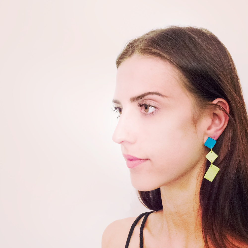 Abstract - Game-of-Love Blossom Earrings - AMARE WEAR