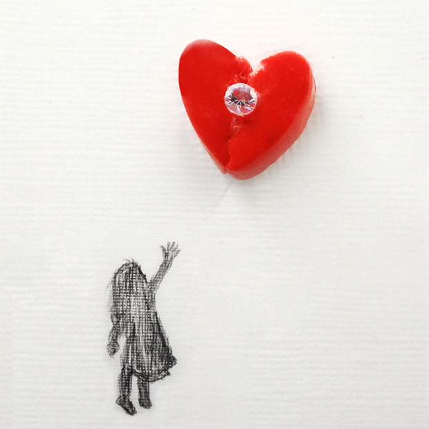 Amare Wear - Broken Heart Single Earring