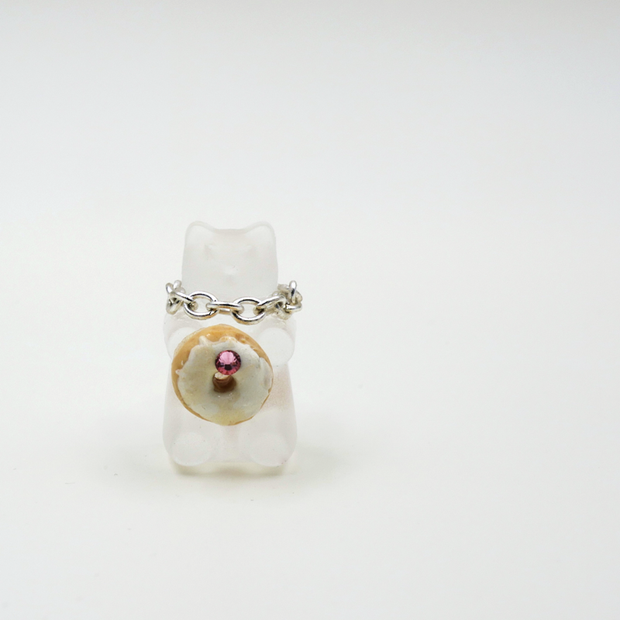 Amare Wear - Gummy Bear Donut Single Earring