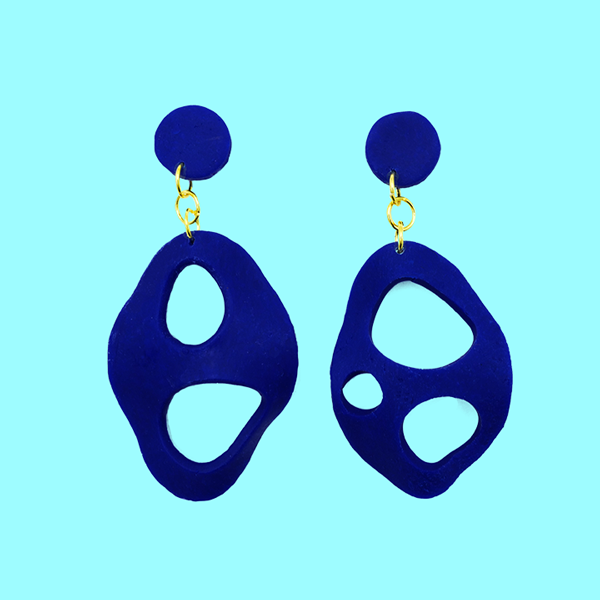 Abstract Shapes of love - A Pair of Earrings - AMARE WEAR