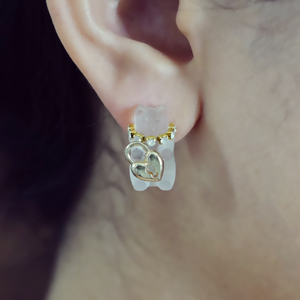 Bear With Me Classics - Single Earring - AMARE WEAR