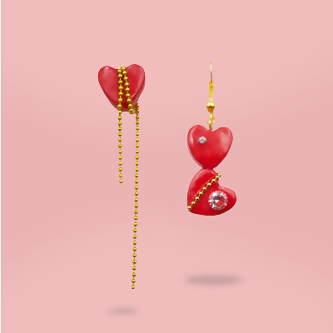 Pair of Love - A Pair of Earrings - AMARE WEAR