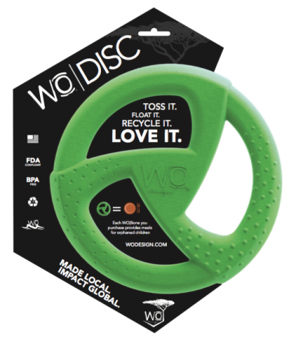 WO Design announces the WO|Disc - USA made dog toy that helps orphaned children in Ethiopia
