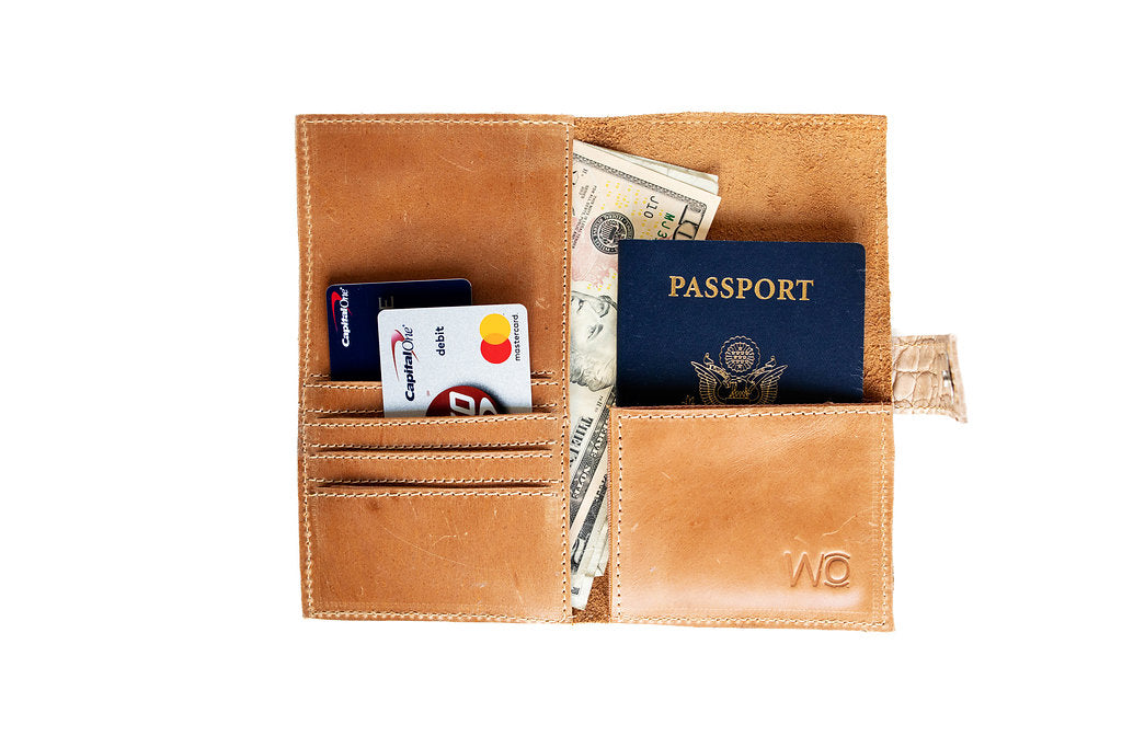 Phone passport wallet