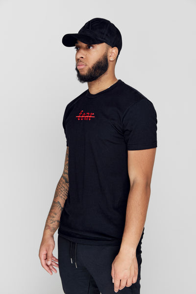 """NO FEAR"" BLVCK TEE"
