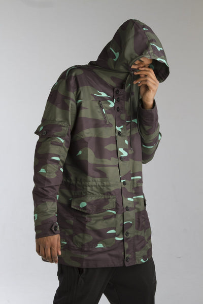 ALMVGHTY Handmade Camo Jacket - Green