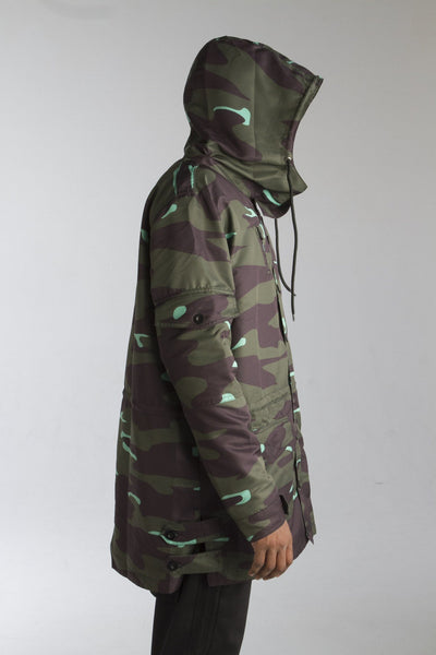 ALMVGHTY Camo Jacket - Green - Right