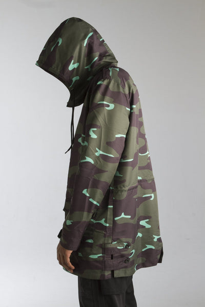 ALMVGHTY Camo Jacket - Green - Left