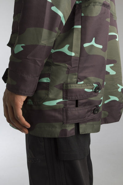 ALMVGHTY Camo Jacket - Green - Side Cuts