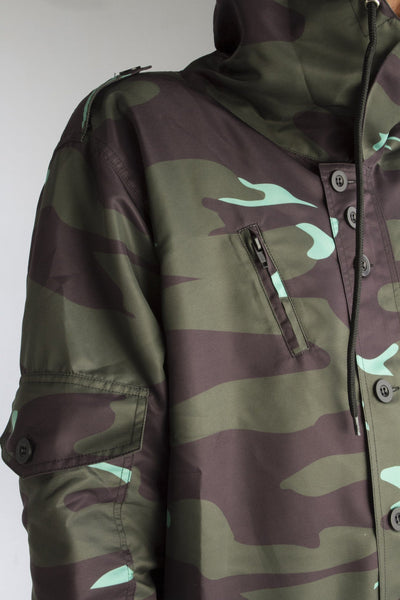 ALMVGHTY Camo Jacket - Green - Front