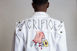Sacrifices Denim Jacket (White)