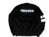 FREEDOM REVERSIBLE DRIP BOMBER JACKET