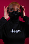 NO FEAR CROP SET