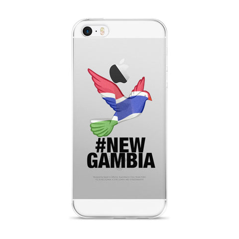 #NewGambia iPhone 5/5s/Se, 6/6s, 6/6s Plus Case