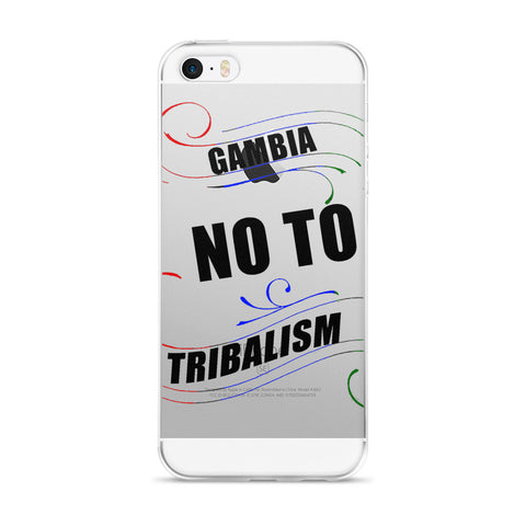 No To Tribalism iPhone 5/5s/Se, 6/6s, 6/6s Plus Case