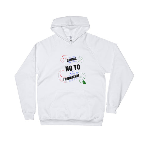 "No To Tribalism ""Unisex Hoodies"""