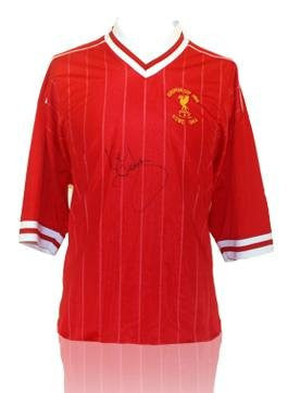 Kenny Dalglish Front Signed Liverpool Shirt