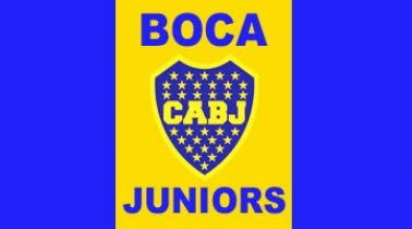 Boca Juniors Crest Flag